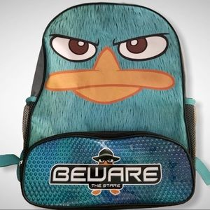 "Angry Bird ""Beware the Stare"" Backpack"